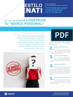 Boletín AES 57 Octubre - Tips Para Construir Tu Marca Personal