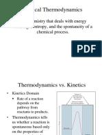 Chhemical Thermodynamics
