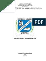 Plan de Área de Tecnologia e Informatica