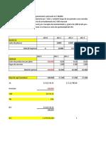 calculo del VAN TIR B/C