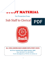 Aiabaeu Study Material Ss to Clerk Jan 2018