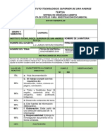 Lista de Cotejo - Investigacion Doctal