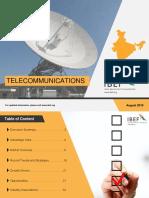 Telecommunications August 2019