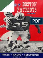 1967 Patriots