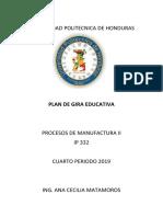 Pla de Gira Educativa