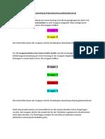 Vorgehen Gruppeneinteilung Prävention (1)