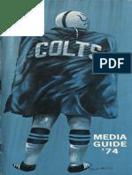 1974 Colts