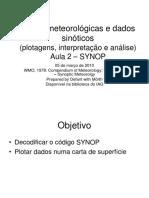 Manual de synop em ppt