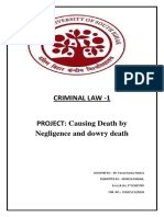 Causing death by negligence.docx