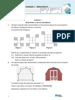 Matemática 9ano Teste Out2019