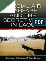 b 0156 Celeski Special Air Warfare and the Secret War in Laos Air Commandos 1964 1975