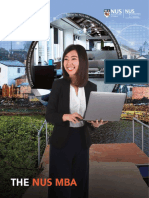 NUS MBA Brochure