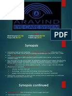 Arvind Eye Care Ppt 1