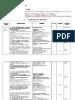 Planificare Invatamant Profesional Cls a IX a- 2019 2020