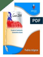 CASEN 2006 Resultados Pueblos Indigenas Casen 2006