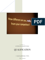 Interview Qs Qualification