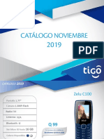 Catalogo TIGO Noviembre 2019