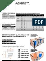 1 - Dimensionamento e Localização Do Abastecimento de Água Potável em Edificação Multifamiliar