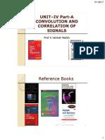 Convolution and Correlation of Signals for PDF