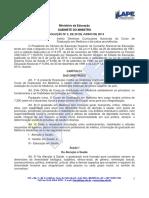 Resolução 4 2014 Ces Cne, Dcns Medicina