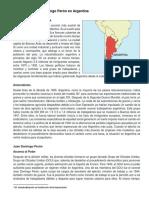 LECTURA Populismo Peron en Argentina