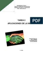 TAREA 2 - Web 2.0 - Revisada - Alex-Ana-Suzanne-Kattia
