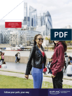 City University of London International Pathways Guide