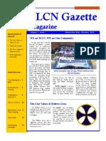 SLCN Gazette Magazine, Volume 1, Issue 1, 2019