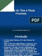 Fraturas de Tíbia e Fíbula Proximais
