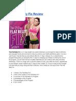 Flat Belly Fix