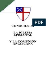 Conociendo La Iglesia Episcopal y La Comunión