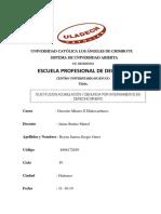 Sustitución Acumulación y Denuncias Por Internamiento en Derecho Minero.