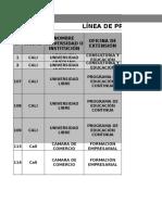 1-Matriz Benchmark Educación No Formal (Actualizada)