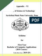 FYBCA syllabus