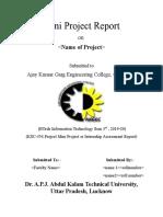 MINI project report format.doc