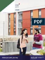 Nottingham Trent University International Pathways Guide