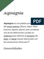 Algolagnia - Wikipedia, La Enciclopedia Libre