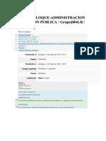 IShareSlide.net-Examen PArcial Admon y Gestion Publica
