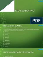 2 El Proceso Legislativo