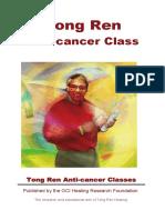 Tong Ren - Anti Cancer Booklet