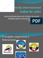 Reglamento Internacional Futbol de Salón