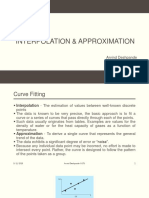 Interpolation&Approximation Class PPT