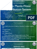 Metro Manila Water Distribution System