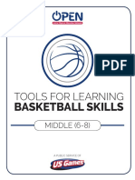 Full Middle School Basketball Unit
