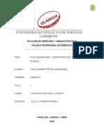 ejemplos de Fichas Bibliografica Resumen y Parafraseo