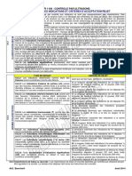 Criteres Acceptation UT - API 1104