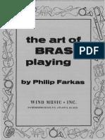 Farkas Art of Brass Playing
