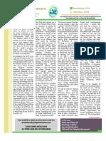 Oct Nov 2010 Newsletter