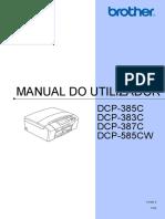 Impressora Multifuncoes Brother DCP-385C - Manual Do Utilizador_portugues