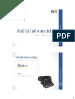 Abilità Informatiche - M3